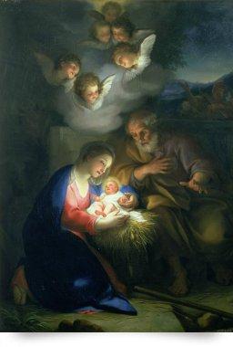 mengs nativity scene